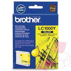Keltainen mustepatruuna BR-LC1000Y