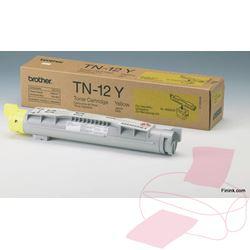 Keltainen värikasetti BR-TN12Y