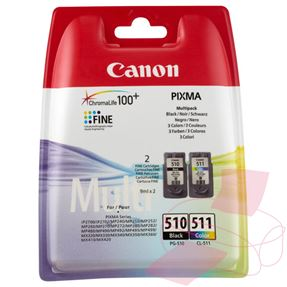 Multipakkaus PG-510/CL-511 (Canon 2970B010 (PG-510 / CL-511)) CA-2970B010