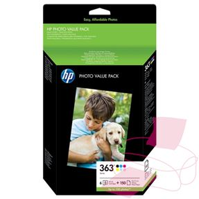 HP 363 Photo Value Pack (HP Q7966EE (HP 363)) HP-Q7966EE