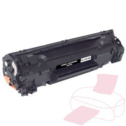 Musta värikasetti RA-L092-BK