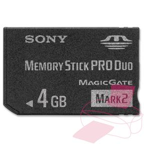 Memory Stick Pro Duo muistikortti 4GB (MSMT4G) SO-MSMT4G
